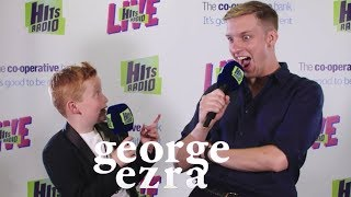 George Ezra & Braydon Bent on 'Paradise' & 'Shotgun'| Hits Radio Live