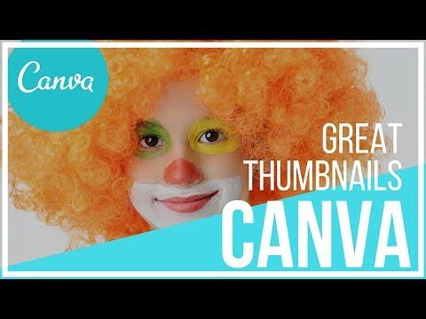 Create Amazing Free YouTube Thumbnails Using Canva