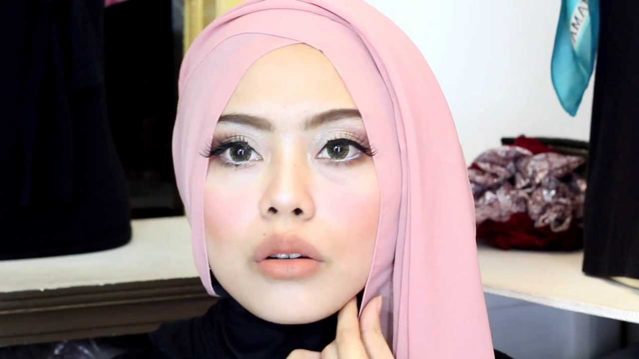 Tutorial Make Up Hijab Pesta YouTube