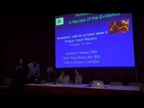 Prague Home Birth Conference 2014 – 1 (Vránová, Candigliota, Johnson)