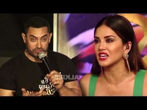 Aamir Khan's SHOCKING Comment On Sunny Leone