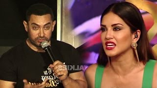 Repeat youtube video Aamir Khan's SHOCKING Comment On Sunny Leone