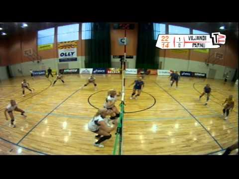 Eesti naiste karikafinaal 2011 Viljandi  Pärnu 10.12.2011