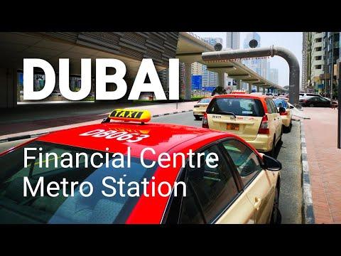 DUBAI - Financial Centre Metro Station