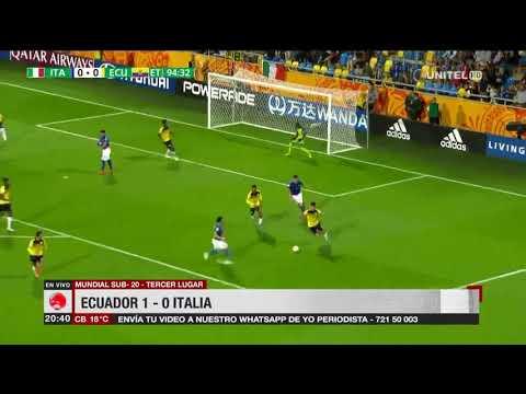 Mundial Sub 20: Ecuador 1 - 0 Italia
