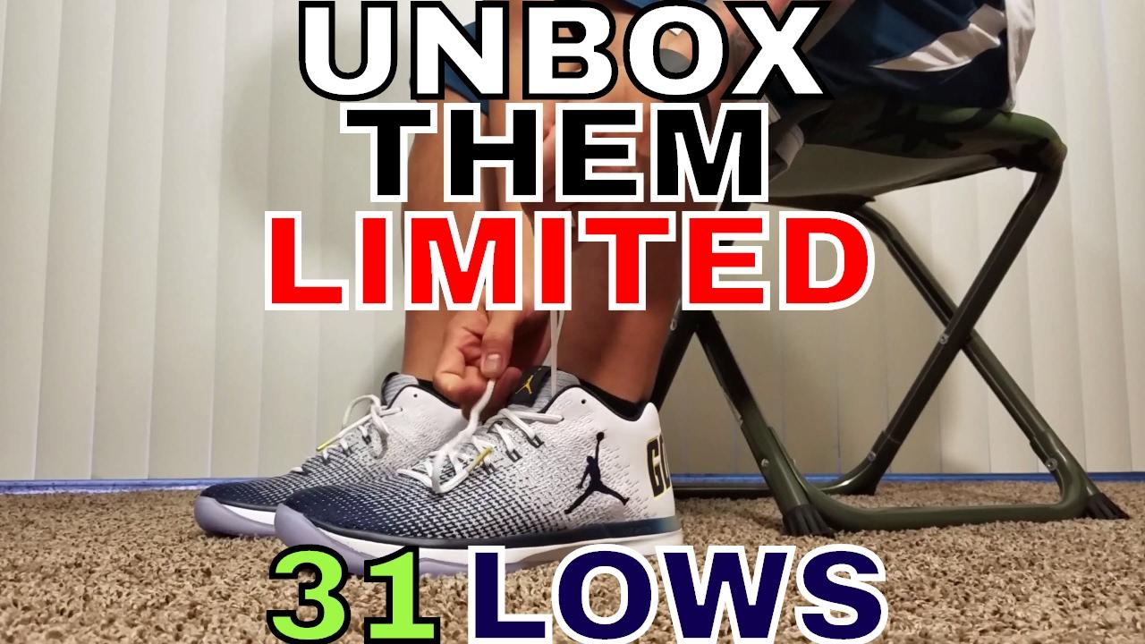 d8b58b49485e96 Unbox Them Copps - Jordan XXXI (31) Low