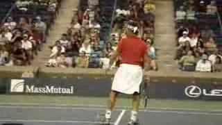 Pat Cash Exhibition Game US Open 2007