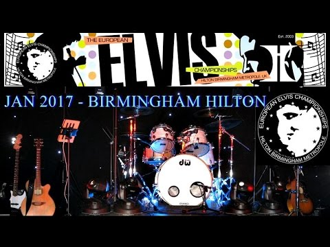 Jan 2017 - Europe's Largest Annual Elvis Tribute Artist Contest - Birmingham Hilton
