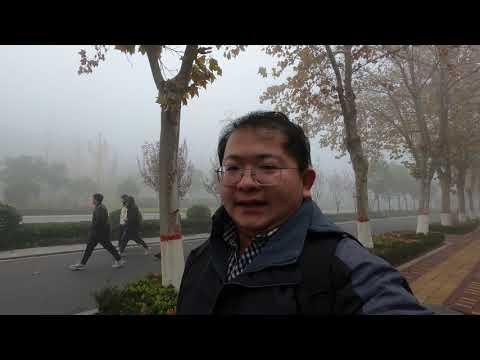 入冬以来第一场大雾天气