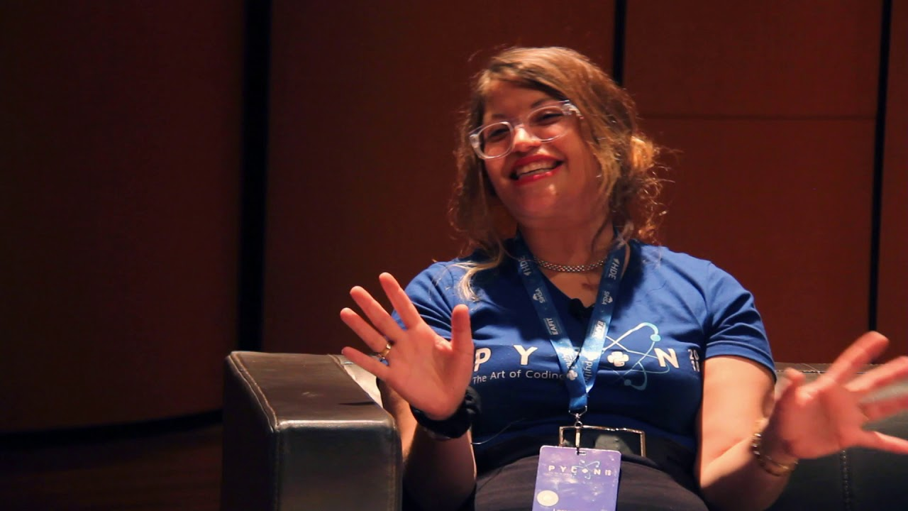 Image from Interview Lorena Mesa - Keynote Speaker - PyCon Colombia 2018