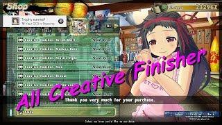 Senran Kagura Estival  Versus : All Creative Finisher