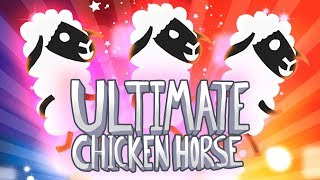 HWSQ #184 - DU KOMMST HIER NICHT DURCH ● Let's Play Ultimate Chicken Horse