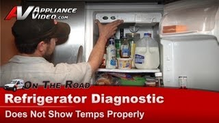 Electrolux Frigidaire -  Refrigerator Diagnostic & Repair - Thawing ,Not cooling - PHS68EJSB0