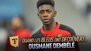 Champion du monde 2018 : Quand on a découvert Ousmane Dembélé (Mars 2016)