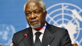 MORNING TRUMPET: Mjue zaidi Kofi Annan, Katibu Mkuu wa Kwanza wa UN kutoka Afrika