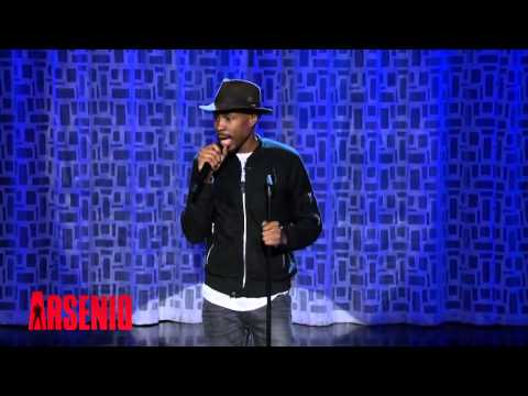 Wood Harris Performs Standup For The First Time