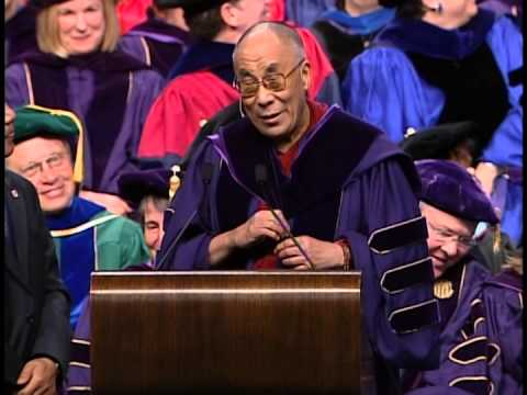 University of Washington Convocation Honoring the 14th Dalai Lama, Part 1