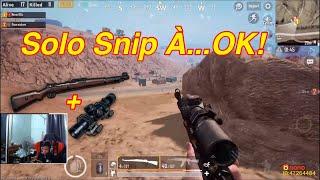 PUBG Mobile | Trận Đấu Đứng Giữa 2 - 3 Team Solo Sniper Cực Mãn Nhãn √