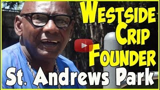 OG Sweetback, explains purpose of Westside Crips & difference between Baby Crips & founders