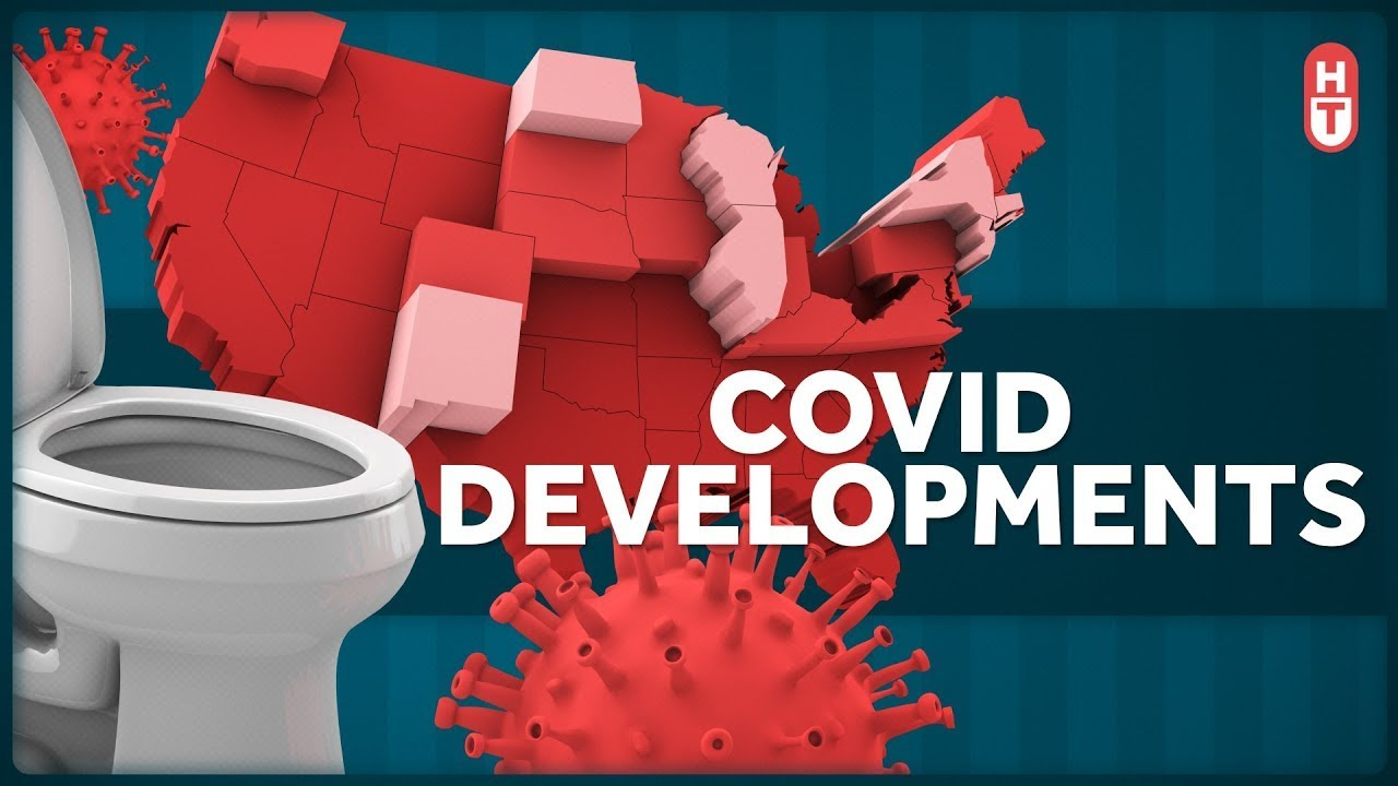 Covid Treatment Research, Toilet Plumes, and Increasing Cases 6-23-2020
