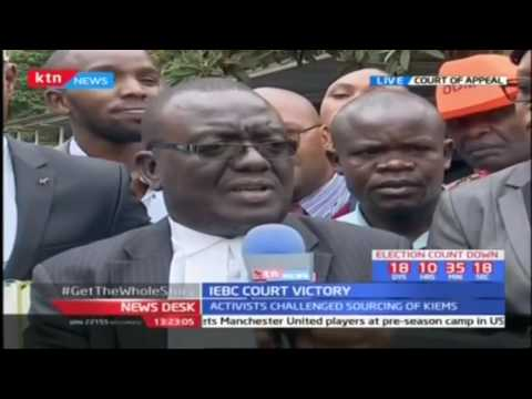 NASA lawyers react to Court of Appeal ruling on ballot paper tender
