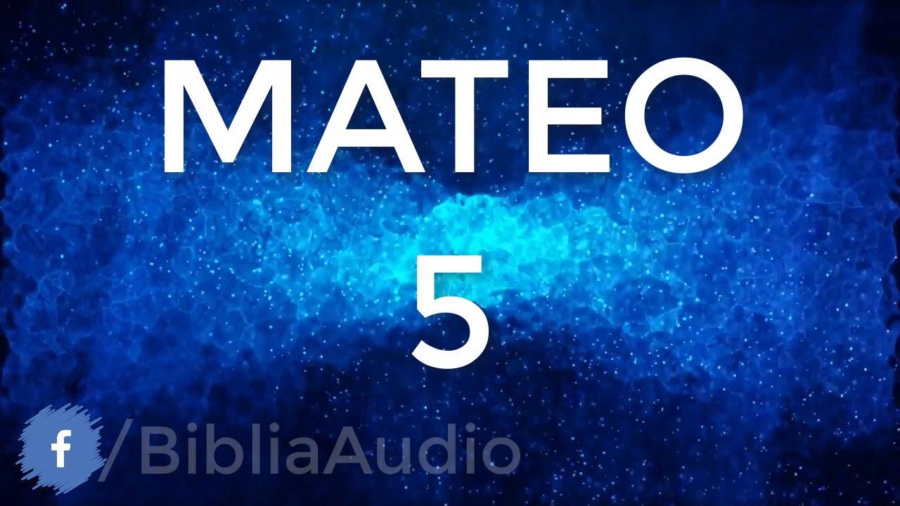 MATEO CAPITULO 5  - El Sermón del monte: Las bienaventuranzas ✅  [ #LaBibliaEnAudio ]