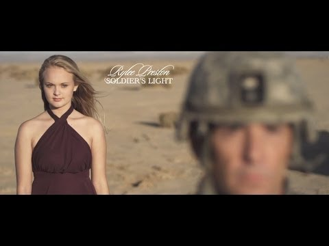 "AMAZING TRIBUTE by 15 year old Rylee Preston ""Soldier's Light"""