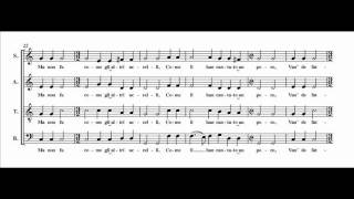 Josquin - El Grillo (score + audio + lyrics)