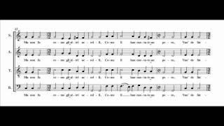 Josquin - El Grillo (score + audio + lyrics)