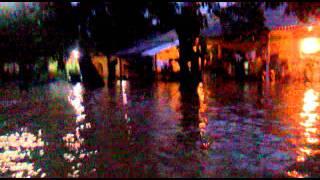 Flood in Alipore