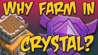 Clash of Clans: Epic Townhall 8 Dark Elixir Farming - It's Crystal League!