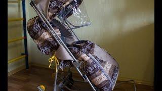 Обзор на санки-коляску GEBURT Снежок