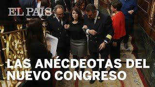 La caída de ADRIANA LASTRA y otras anécdotas del nuevo Congreso