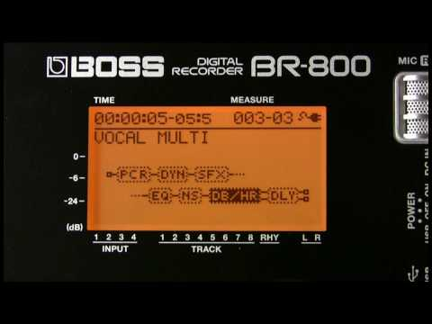 BR-800 Digital Recorder Demo