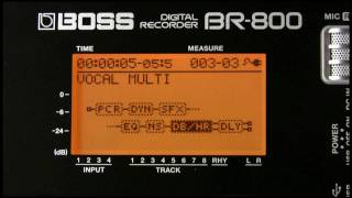 BR-800 Digital Recorder Demo