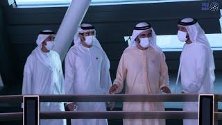 محمد بن راشد يزور جناحي السعودية وسلطنة عمان في إكسبو 2020 دبي