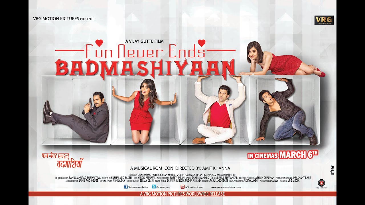 Badmashiyaan (2015) Hindi Dubbed Dual Audio Movie