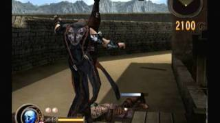 Ps3 god hand gameplay