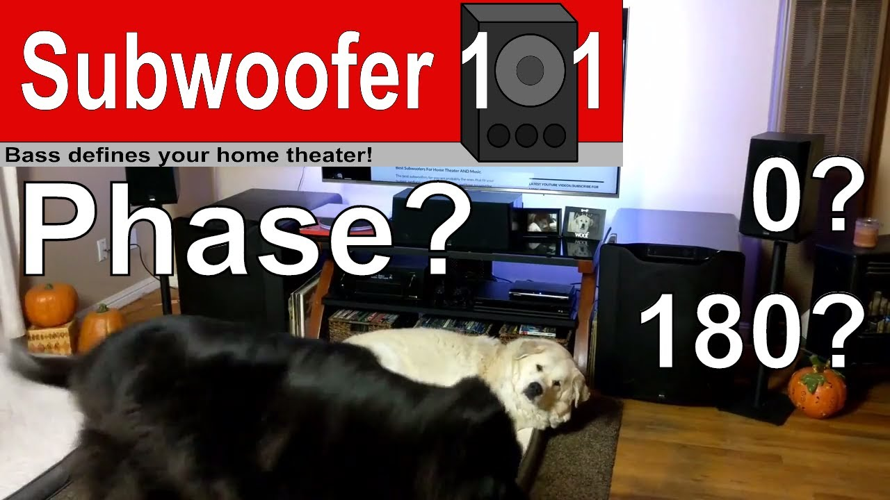 Subwoofer Phase Setting: Which is best? 0? 180? (Subwoofer Setup Tip)