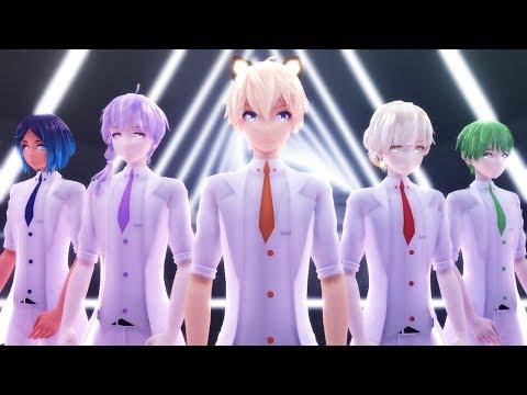 【MMD KPOP】DNA【BTS (방탄소년단)】English sub