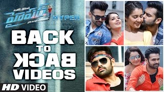 Download Hindi Video Songs - Hyper Back To Back Video Songs | Hyper Video Songs | Ram Pothineni, Raashi Khanna | Ghibran