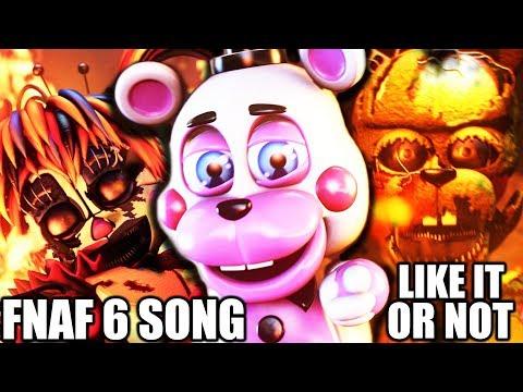 FNAF 6 SONG (Like It Or Not) LYRIC VIDEO - Dawko & CG5