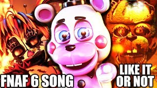 FNAF 6 SONG (Like It Or Not) LYRIC VIDEO - Dawko & CG5
