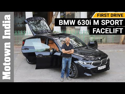 2021 New BMW 630i M Sport | First drive review | BMW 6 series Gran Turismo | Motown India