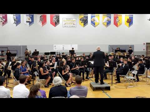 """Hawthorn Middle School South – Selections from """"The Greatest Showman arr. Paul Murtha – 5/16/2019"""