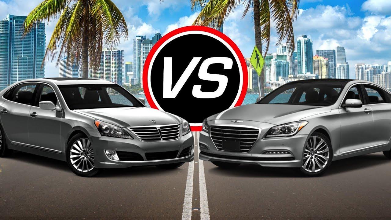 2016 Hyundai Equus Vs Genesis V8  Spec Comparison! Youtube