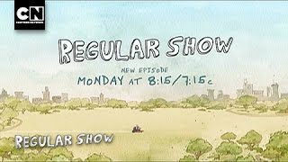 Regular Show - House Rules (long preview) + Adventure Time teaser (480i)