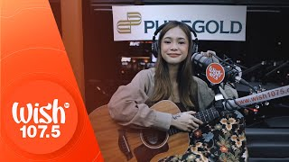 "syd hartha performs ""hiwaga"" LIVE on Wish 107.5 Bus"