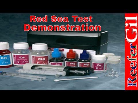 Rea Sea Pro Test Kit Demonstration