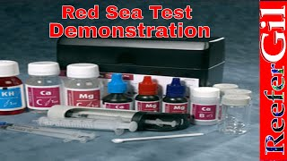 Rea Sea Pro Test Kit Demonstration